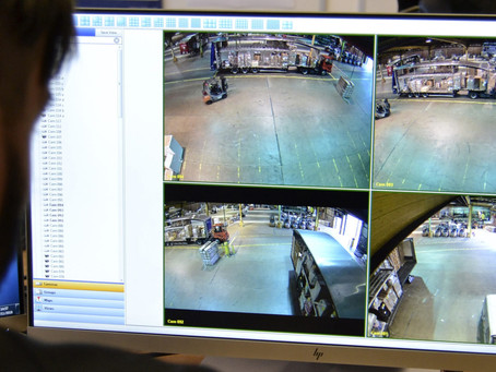 All-seeing camera track pallets through Fortec Hub