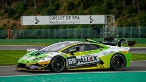 Bruising Belgian weekend for Toro Verde GT on Lamborghini Super Trofeo debut