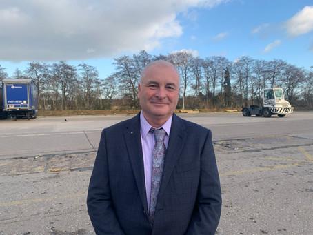 New Regional Commercial Manager Gary Flight joins UK pallet network