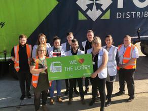 We are National Lorry Week Winners - September 2019