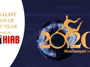 Transport team shortlisted for top UK award