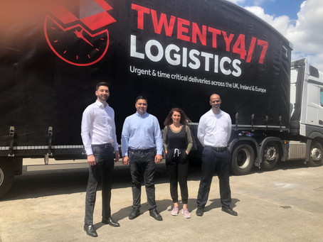 Luton logistics firm celebrates five-fold growth