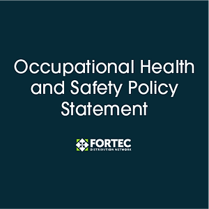 Occupational Health and Safety Policy Statement