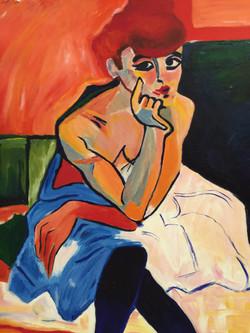 Andre Durain study