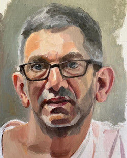 Portrait of the sculptor David Simon