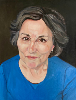 Portrait of my mother
