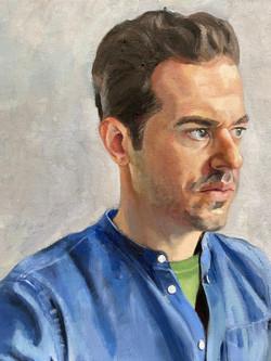 Portrait of the artist Frank Oriti