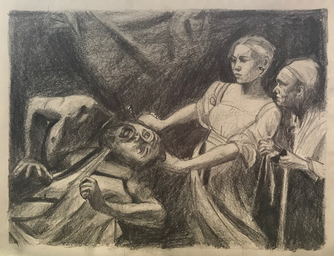 Daphne beheading Holofernes