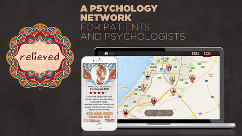 RELIEVED: A Psychology Network, for patients and psychologists