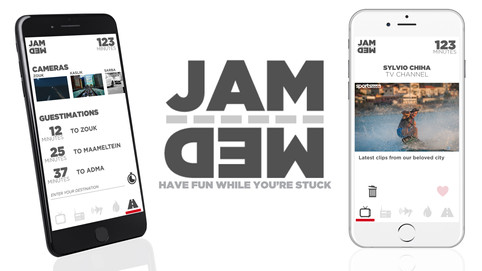 JAMMED: Turning traffic jams into an opportunity