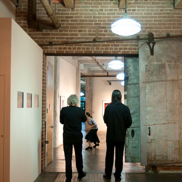 Tim Hagans & Seth Paynter, with Brooke Barnes. Photo by Galina Kurlat.