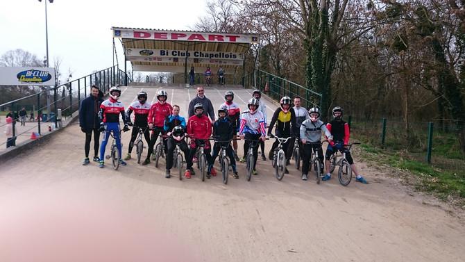 Vélo = BMX même combat pour nos triathlètes!