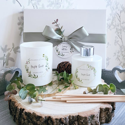 Candle & Reed Diffuser Gift Box