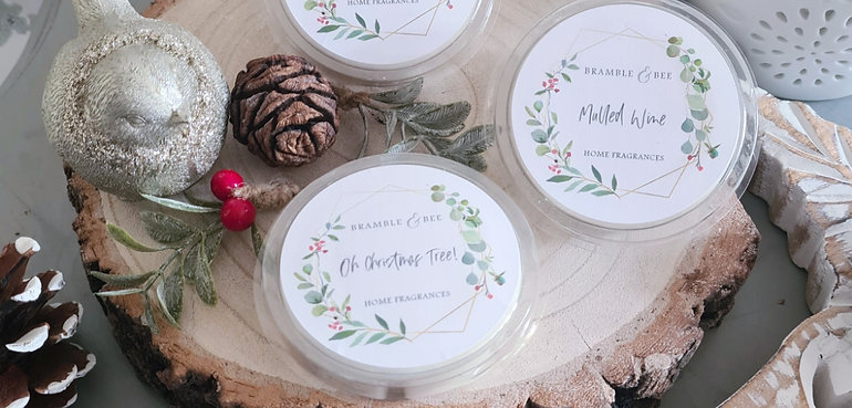 Luxury Wax Melts - Winter Collection