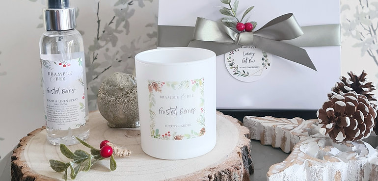Candle & Room Spray Gift Box - Winter Collection