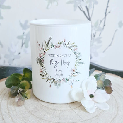 Personalised Sentiment Candle