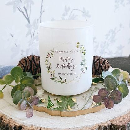 Personalised Luxury Candle