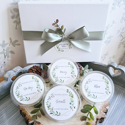 Wax Melt Gift Box - 4 Pods