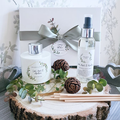 Reed Diffuser & Room Spray Gift Box