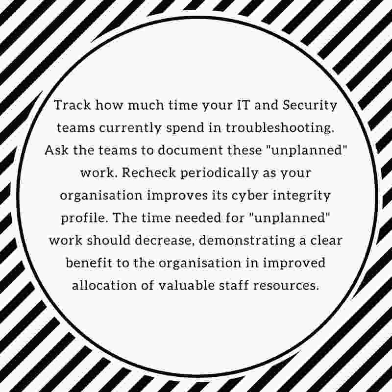 Tracking change management effectiveness