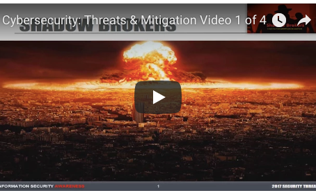 Cyber Security Threats and Mitigation: Video 1 of 4