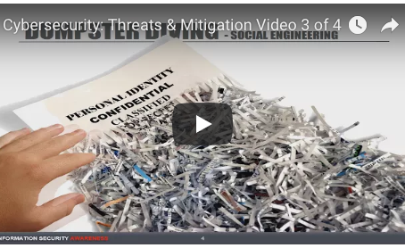 Cybersecurity: Threats & Mitigation Video 3 of 4