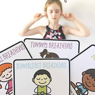 Breathing Exercise Cards