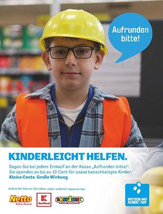BAUARBEITER_Anzeige Deutschland rundet auf