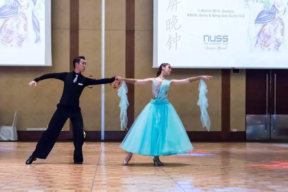 Dance Performance at Nuss