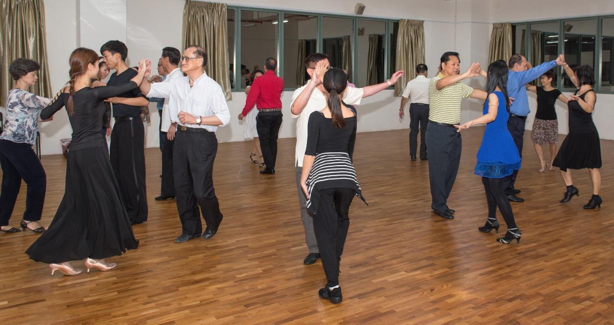 Social Dance at the studio