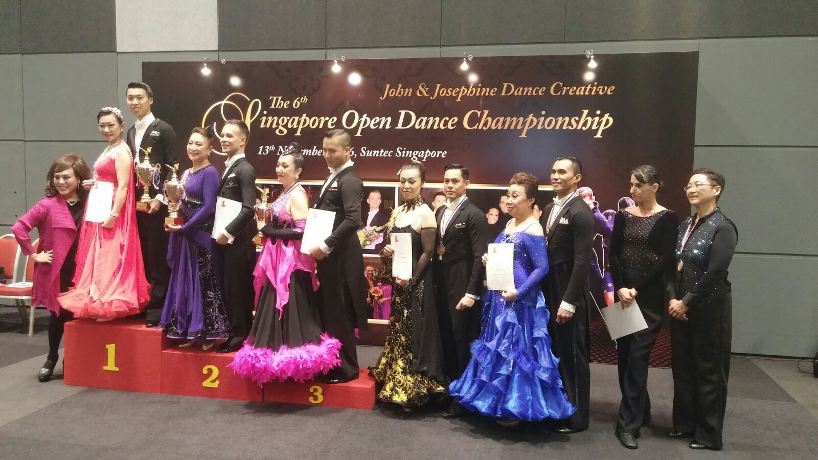Champions at the 6th Singapore Open Dance Championship