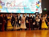 Champions at the 3rd Brillante International Championship