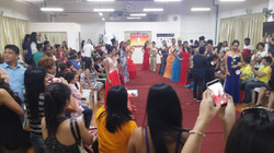 Beauty Pageant at the studio