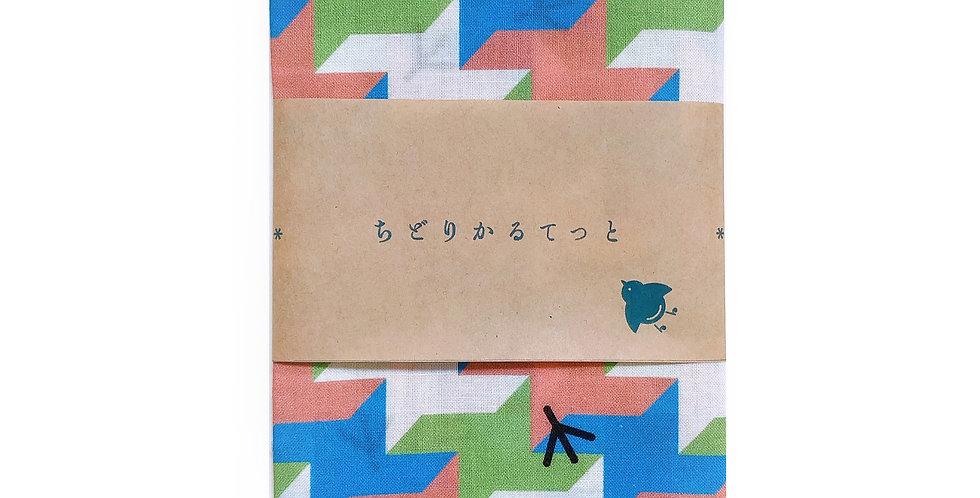CHIDORI quartet | オリジナル手ぬぐい【格子柄】