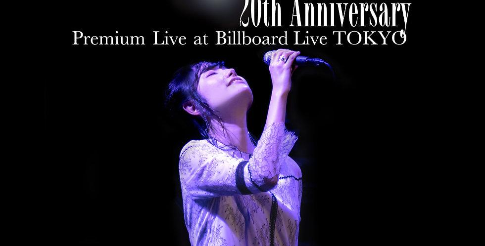 SHUUBI|DVD『20th Anniversary Premium Live at Billboard Live TOKYO』