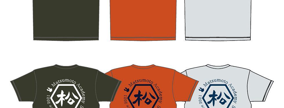 松本学園ソフト部|部員限定Tシャツサイズアップオプション