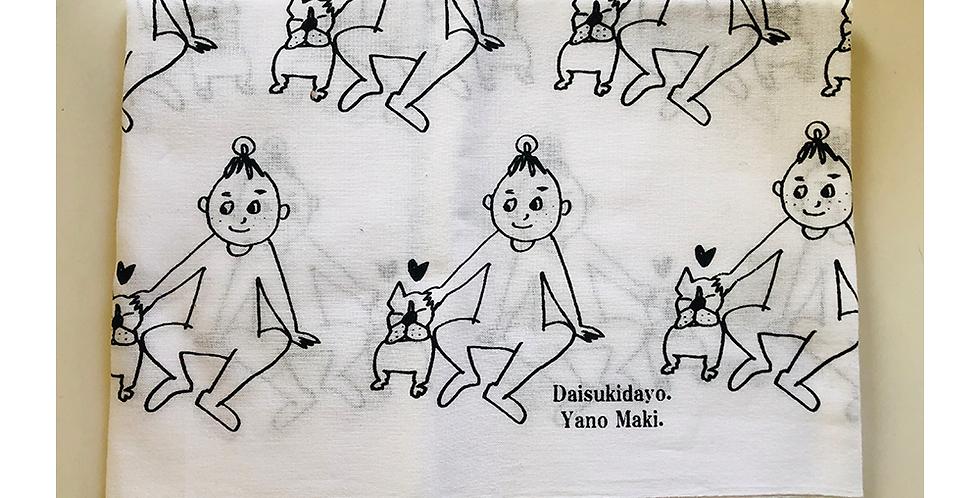 矢野まき|オリジナル日本手拭い