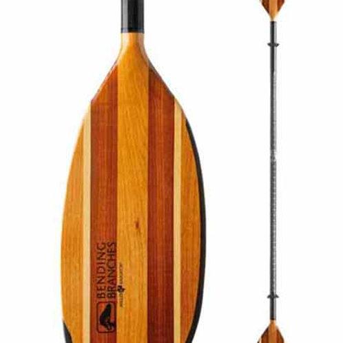 Paddle - Angler Navigator Hybrid Wood Kayak Telescoping 240-255