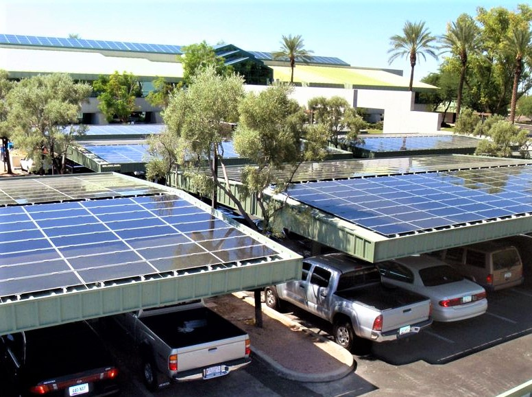 Solar carpark