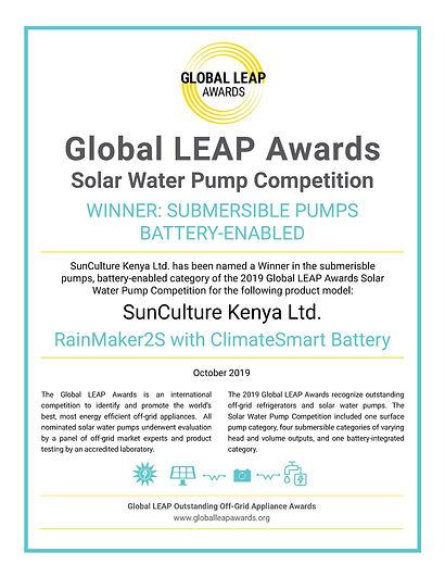 Power-Aid Ltd & SunCulture - Global LEAP