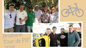 Brisbane Tour de PIF - done!