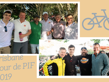 Brisbane Tour de PIF - done!