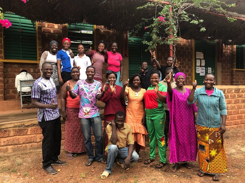 L'équipe du village Laafi