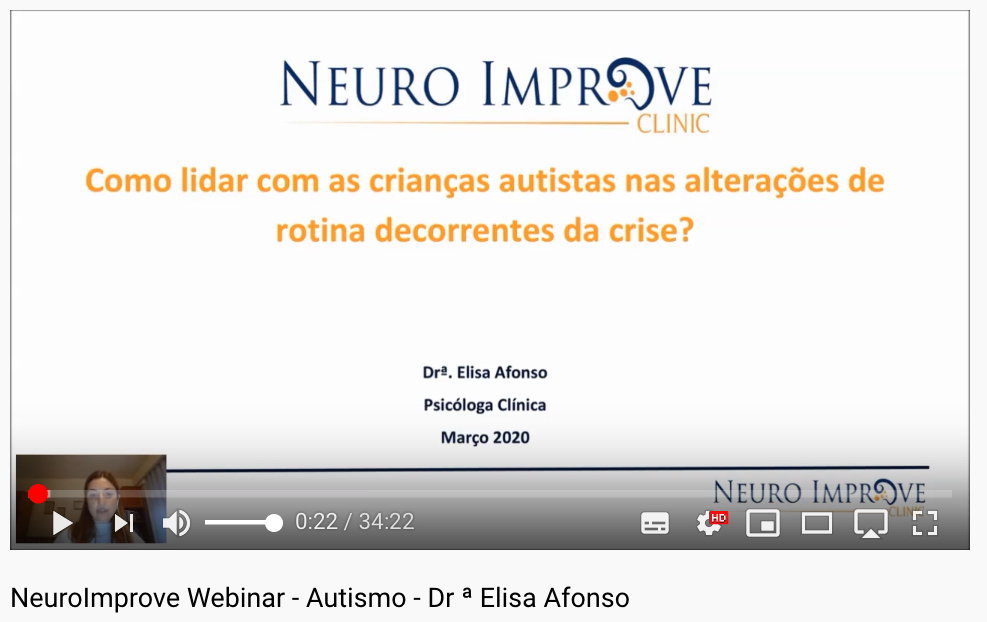 Vídeo - Webinar Neuro Improve