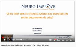 Vídeo - Webinar Neuro Improve