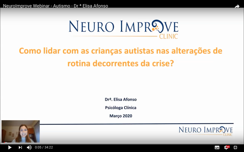 Resumo Webinar Neuro Improve