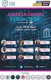 Conversatorio: #JusticiaDigital y #Legaltech