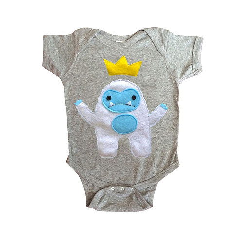 Baby Onesie -Yeti King