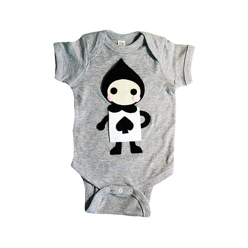 The Trumps - Spade - Alice's Adventure in Wonderland - Infant Bodysuit