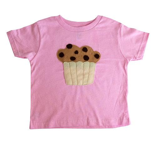 Kids T-Shirt - Hungry Kids - Chocolate Chip Muffin